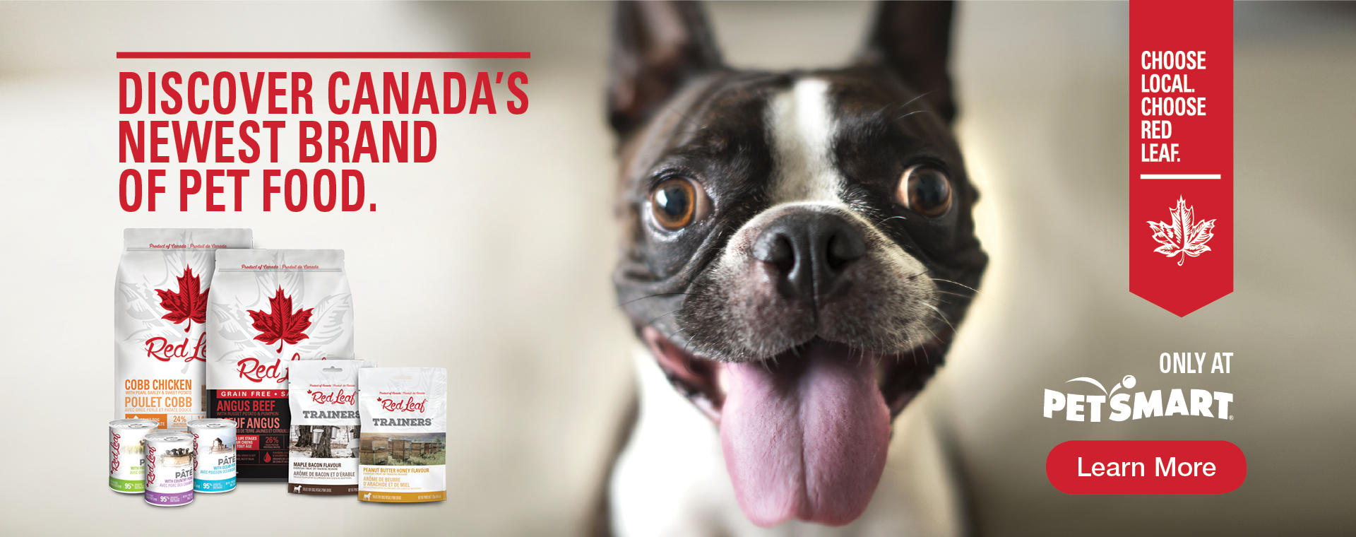 RED LEAF PET FOOD - DISCOVER CANADA'S NEWEST BRAND OF PET FOOD