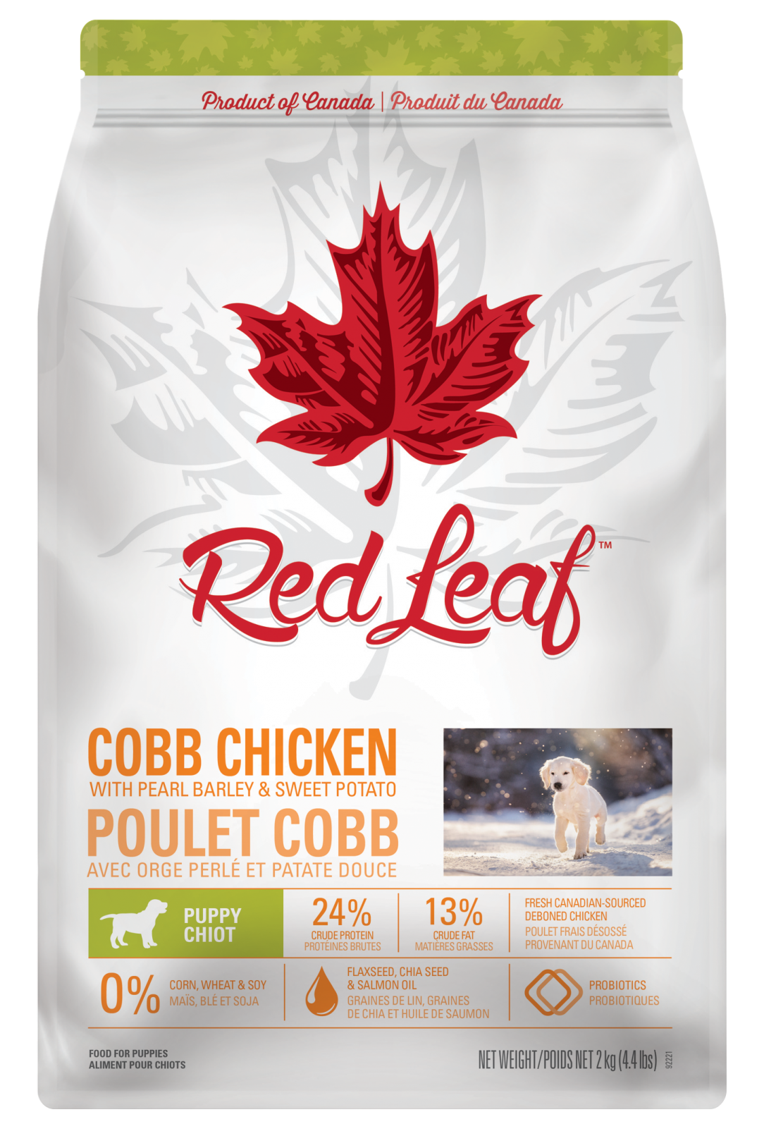 PUPPY | COBB CHICKEN WITH PEARL BARLEY & SWEET POTATO